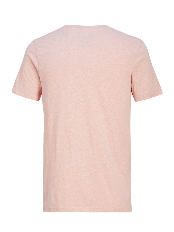 CASUAL T-SHIRT, Peach Beige, large