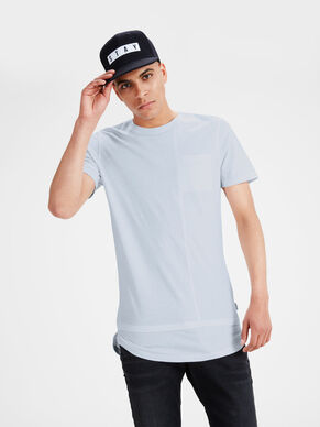 PLAIN REGULAR FIT T-SKJORTE