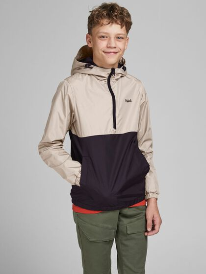 JONGENS COLOURBLOCKING ANORAK