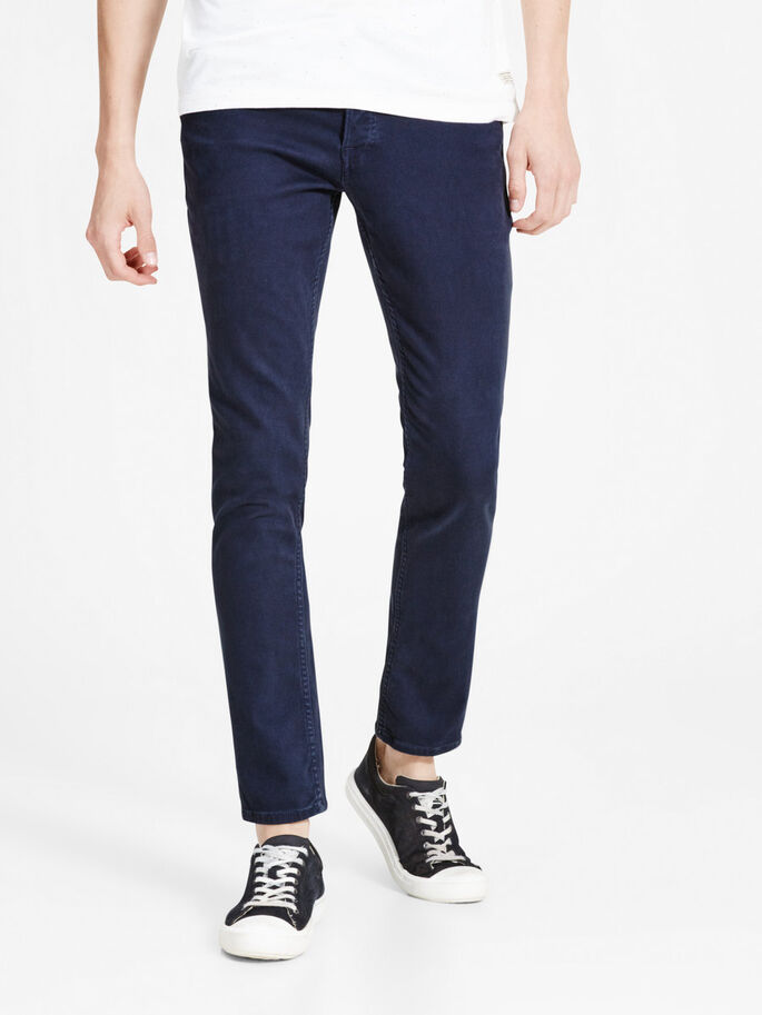 GLENN ORIGINAL AKM 696 BROEK, Navy Blazer, large