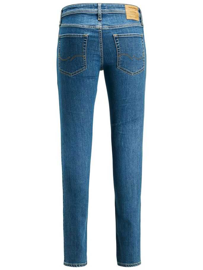LIAM ORIGINAL AM 694 JEANS SKINNY FIT, Blue Denim, large