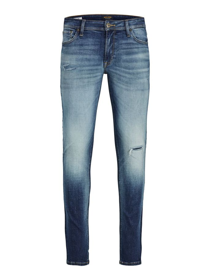 LIAM ORIGINAL GE 683 SPS SKINNY FIT JEANS, Blue Denim, large