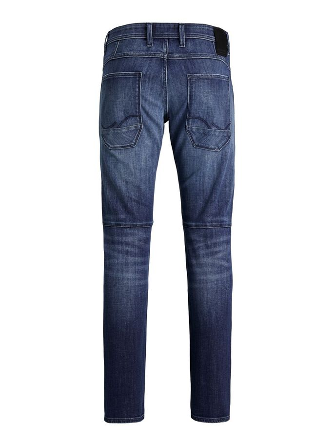 GLENN SCALE GE 837 SLIM FIT JEANS, Blue Denim, large