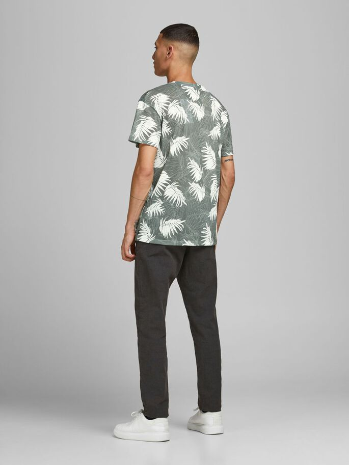 BOTANISK PRINT T-SHIRT, New Sage, large