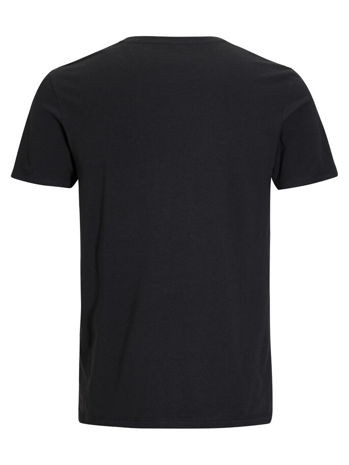 GRAFIK T-SHIRT, Black, large