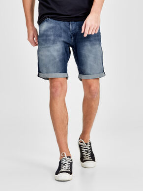 RICK DASH GE 789 SHORTS IN DENIM