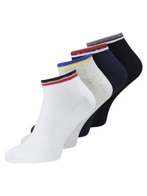 4-PACK STRIPED SOCKS