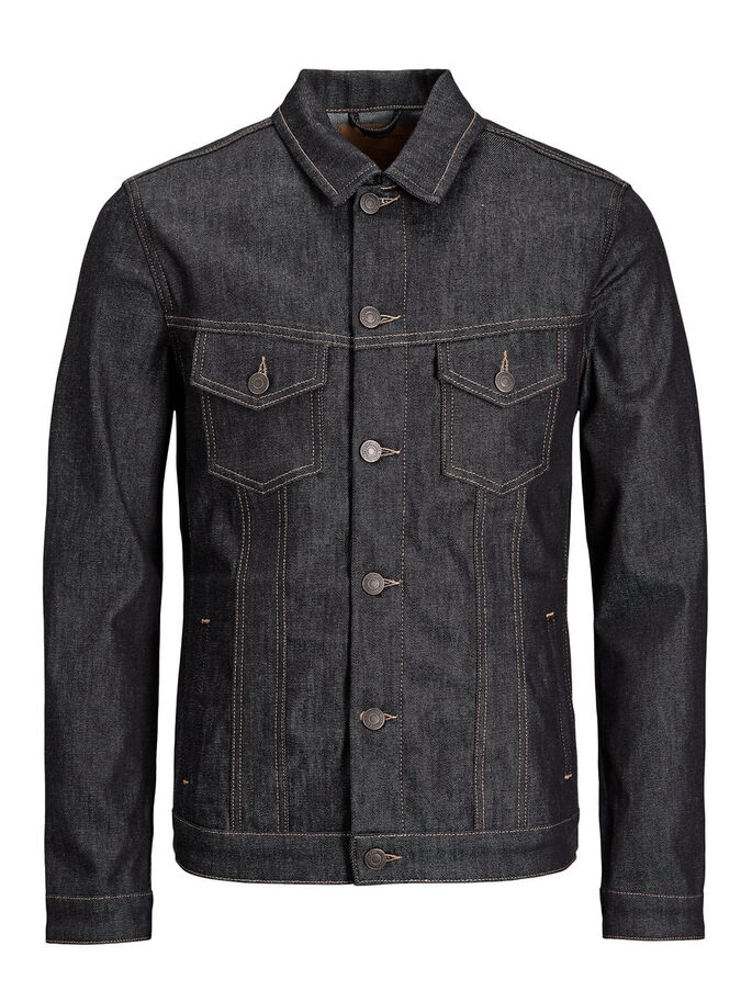 ALVIN JOS 430 DENIM JACKET, Blue Denim, large