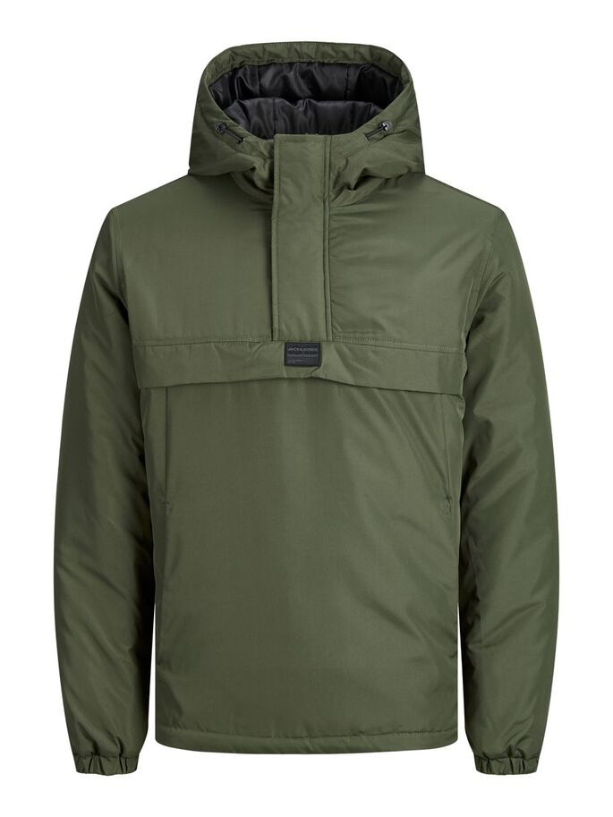CON CAPUCHA ANORAK, Forest Night, large