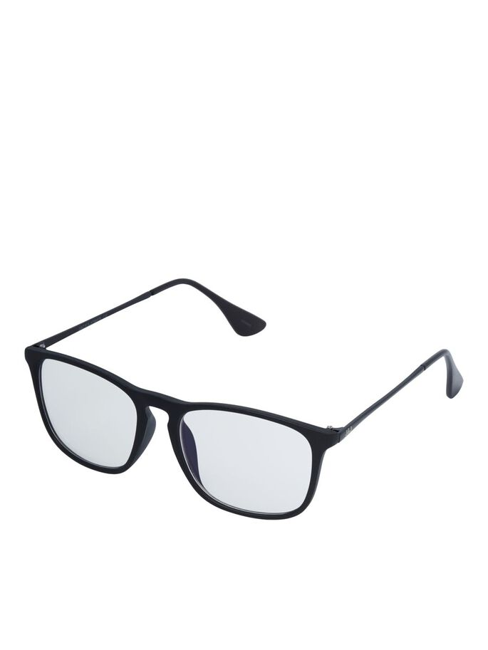 BLAULICHT BRILLE, Black, large