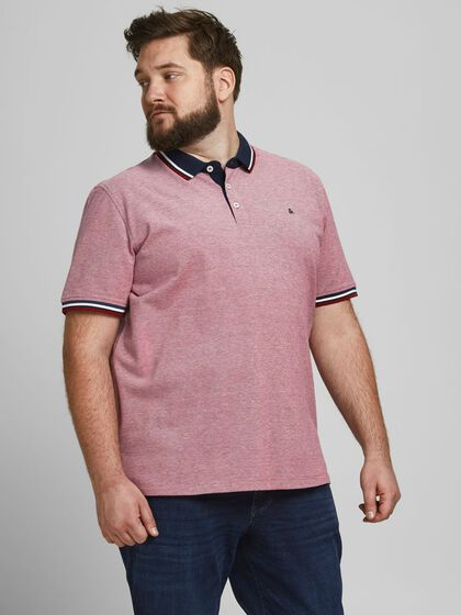 2-PAKNING PLUS SIZE POLO