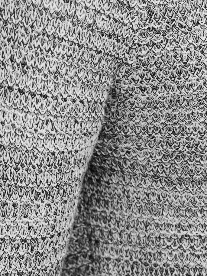 TWISTED YARN PULLOVER, Jet Stream, large
