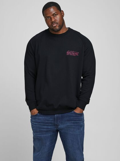LOGO PLUS SIZE SWEATER