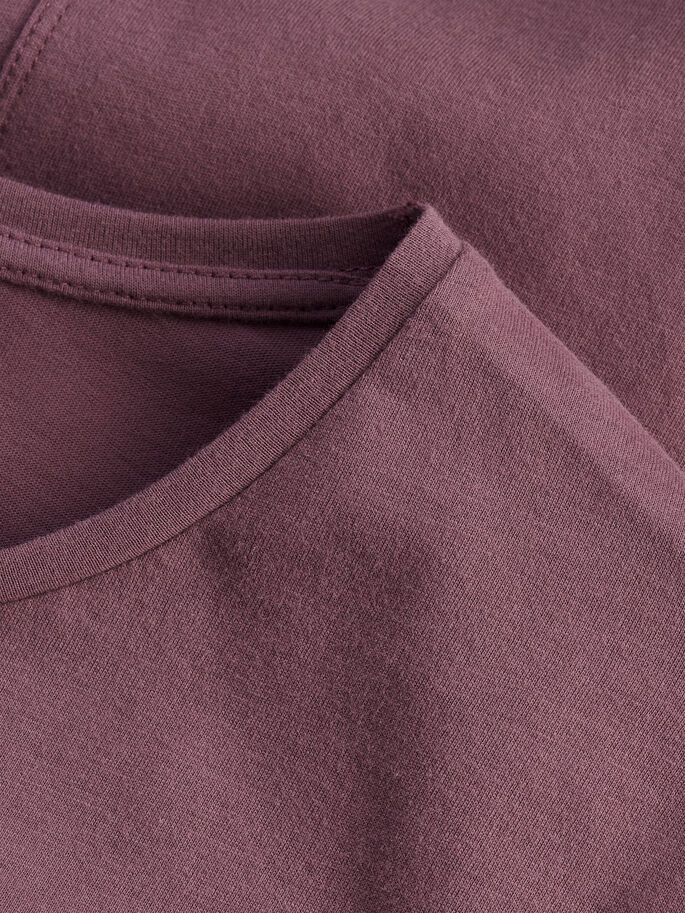 LONG FIT T-SHIRT, Rose Taupe, large