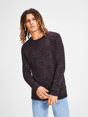 CASUAL KNITTED PULLOVER