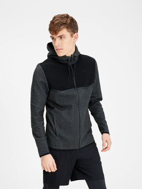 ZIPPED SWEATSHIRT