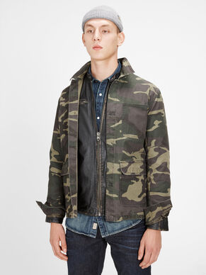 CAMOUFLAGE LIGHT JACKET