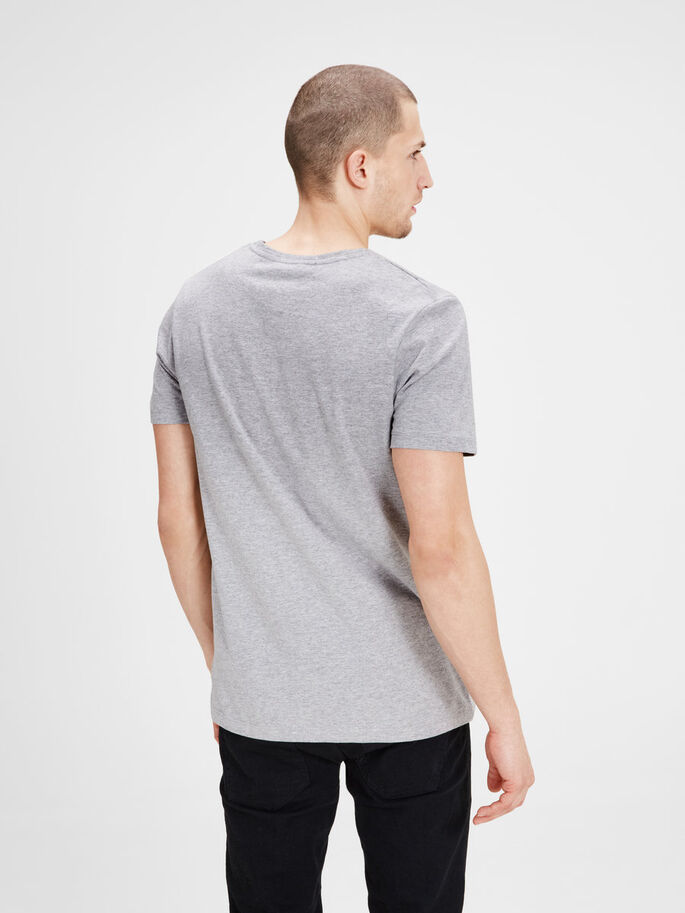 GRÁFICA CAMISETA, Light Grey Melange, large