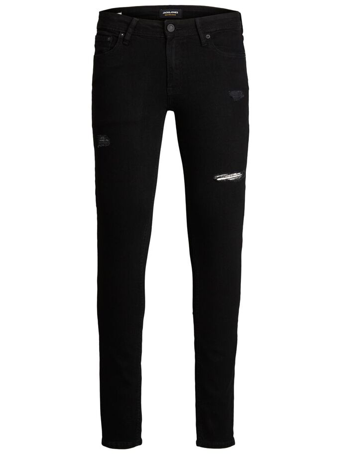 TOM ORIGINAL NA 042 SKINNY FIT JEANS, Black Denim, large