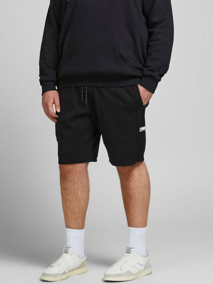 KLASSISK PLUS SIZE SWEAT-SHORTS