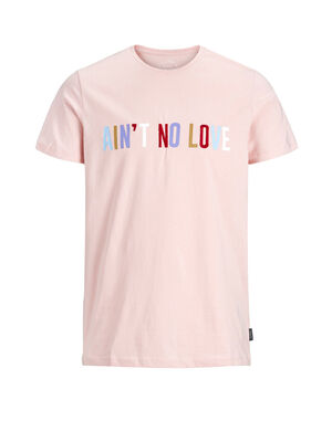 JACK & JONES Statement T-shirt Herren Pastel | 5713738013635