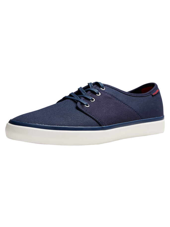 KANVAS SNEAKERS, Navy Blazer, large