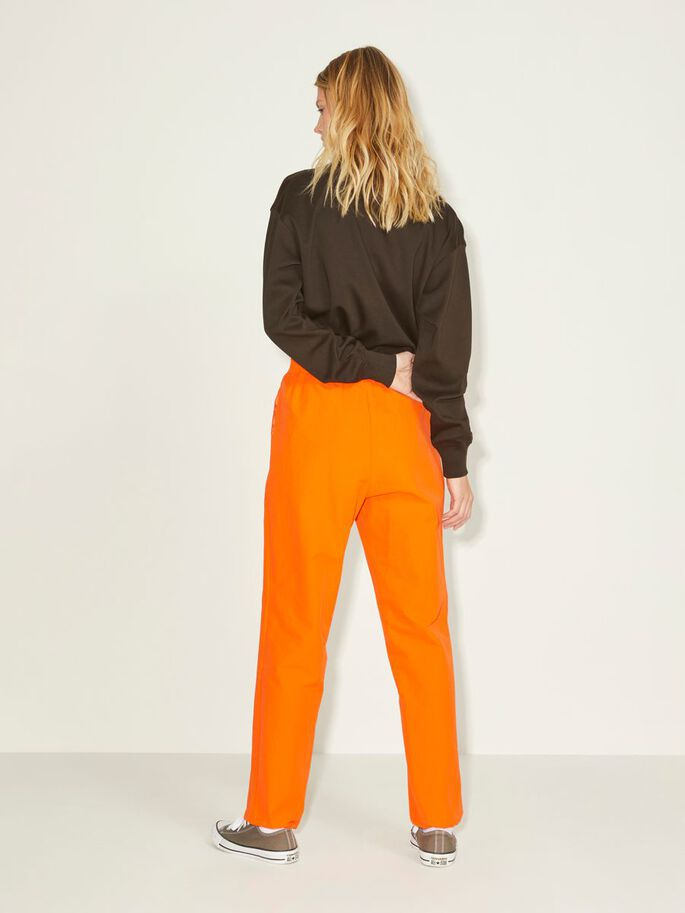 JXHAILEY ATHL TROUSERS, Red Orange, large