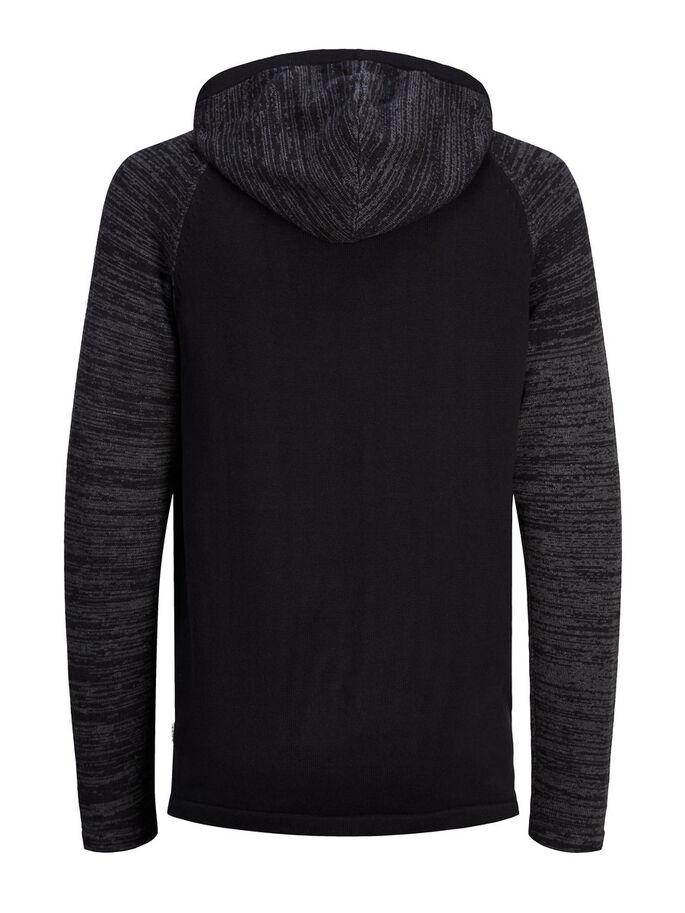 CASUAL PULL EN MAILLE, Black, large