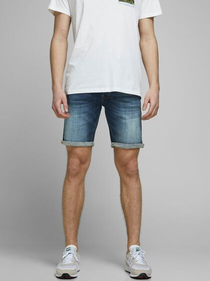 RICK ORG JJ 057 50SPS DENIM SHORTS