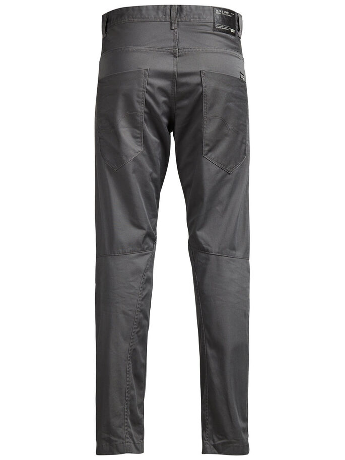 STAN ISAC AKM 249 CHAR. GRAUE CHINO, Charcoal Gray, large