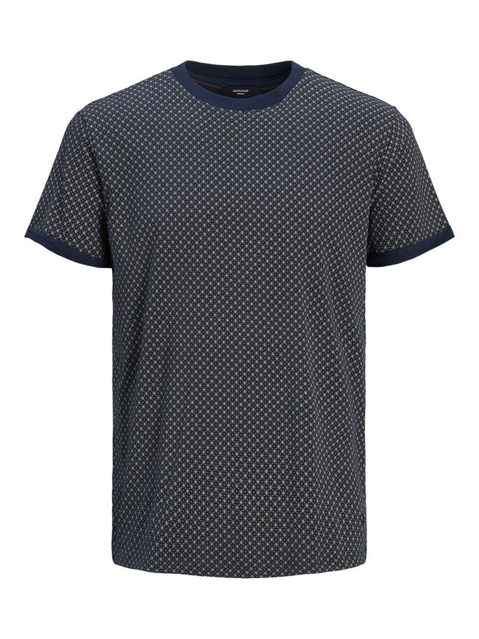 STRETCH T-SHIRT, New Navy, large