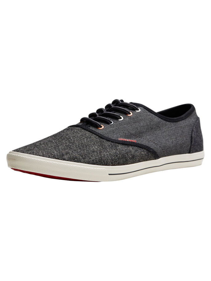 CASUAL SNEAKERS, Anthracite, large