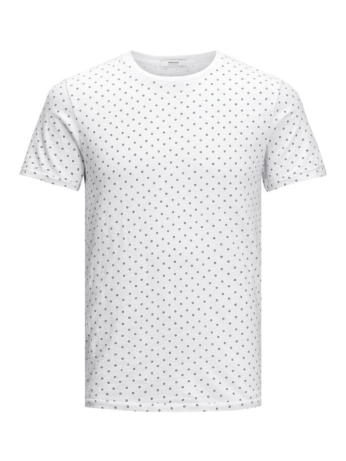 IMPRIMÉ T-SHIRT, White, large