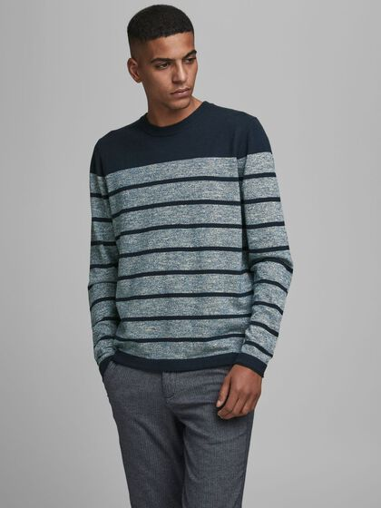 BASIC KNITTED PULLOVER