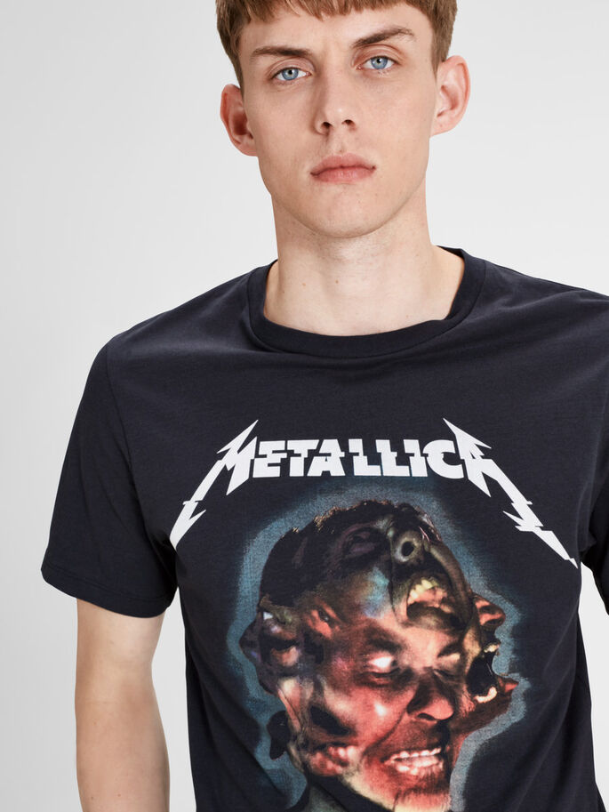 METALLICA T-SHIRT, Caviar, large