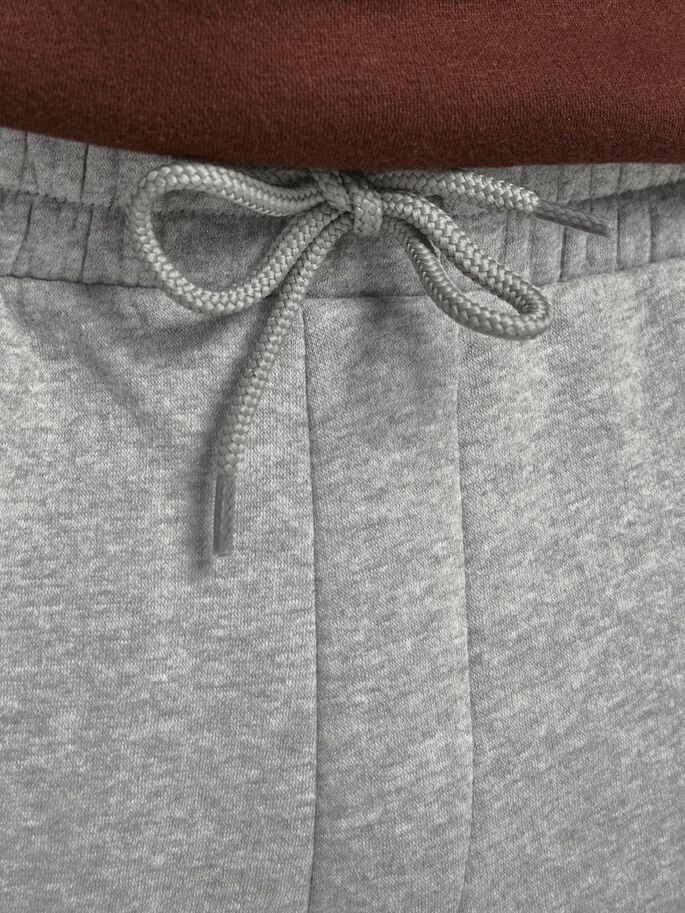 GORDON SOFT SWEATPANTS, Light Grey Melange, large