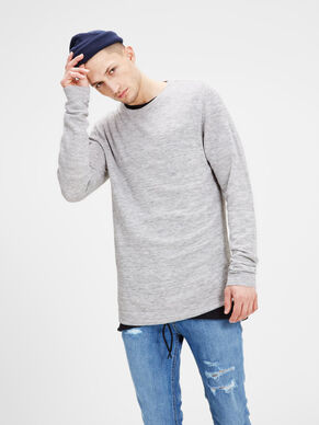 LIGHTWEIGHT KNITTED PULLOVER