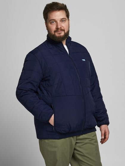 TWIST QUILTED PLUS SIZE JACKET