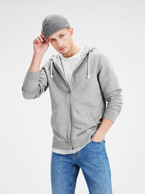 RECYCLED ZIPPED SWEATSHIRT