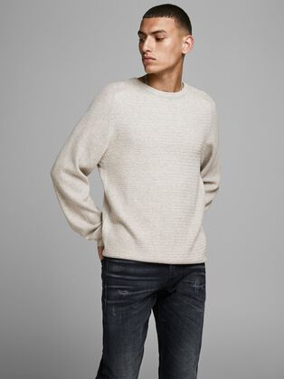 09f61992b9b61 Men's Jumpers: Knitted Black, Grey, Red & More | JACK & JONES