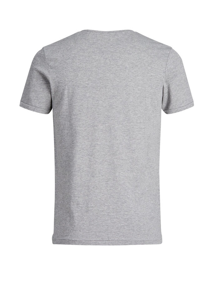 ARTWORK- T-SHIRT, Light Grey Melange, large