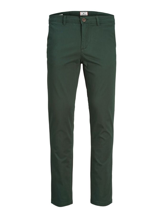 MARCO BOWIE SA CHINOS, Darkest Spruce, large