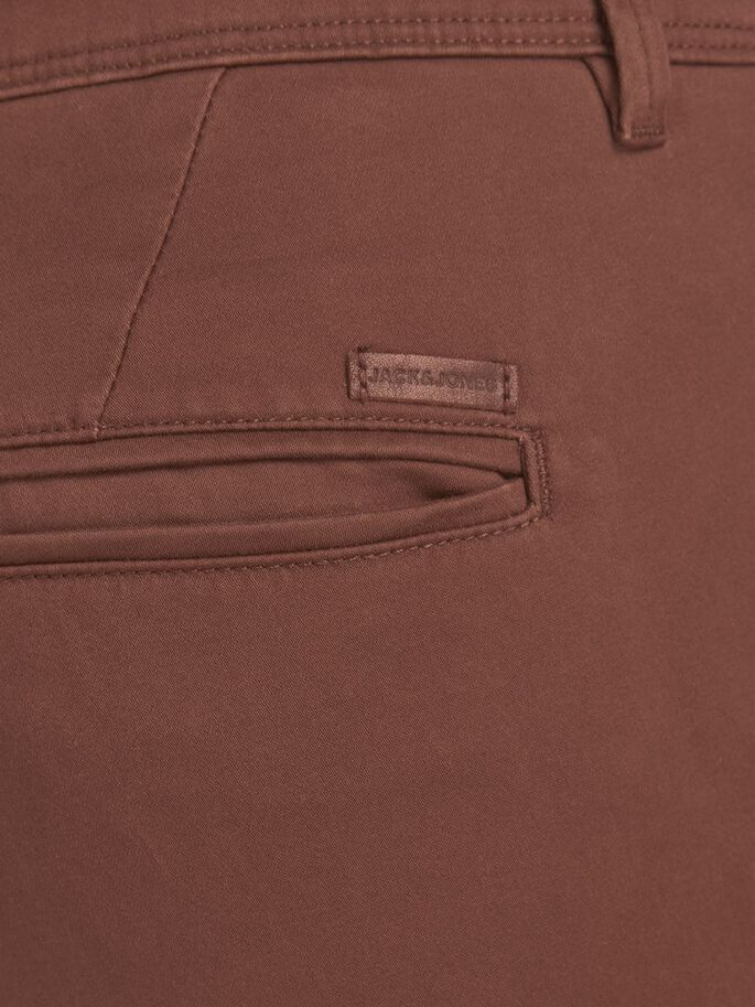MARCO BOWIE SA CHINOS, Cinnamon, large