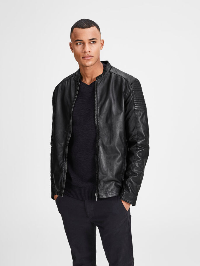 bc310a2677197a Classic leather jacket