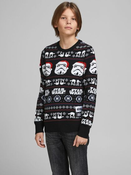 BOYS X-MAS KNITTED PULLOVER