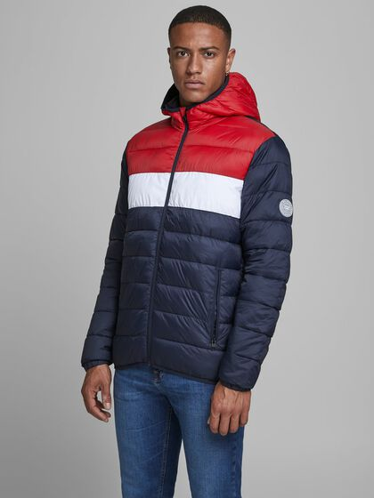 JACK /& JONES Jorbend Light Puffer Giacca Uomo