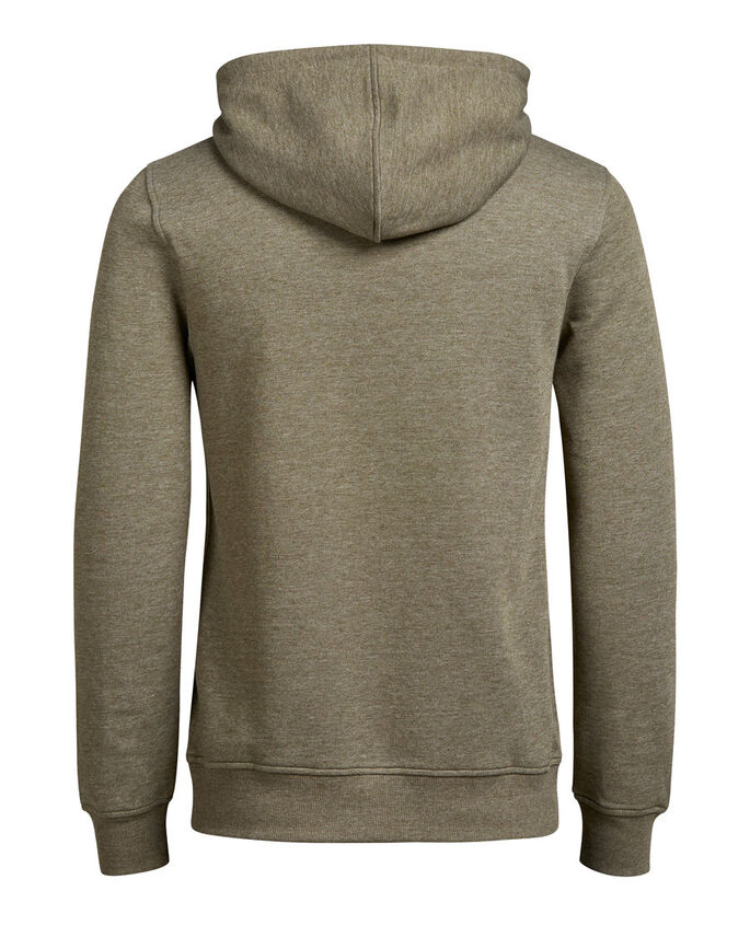 GRAPHIC HOODIE, Dusty Olive, large