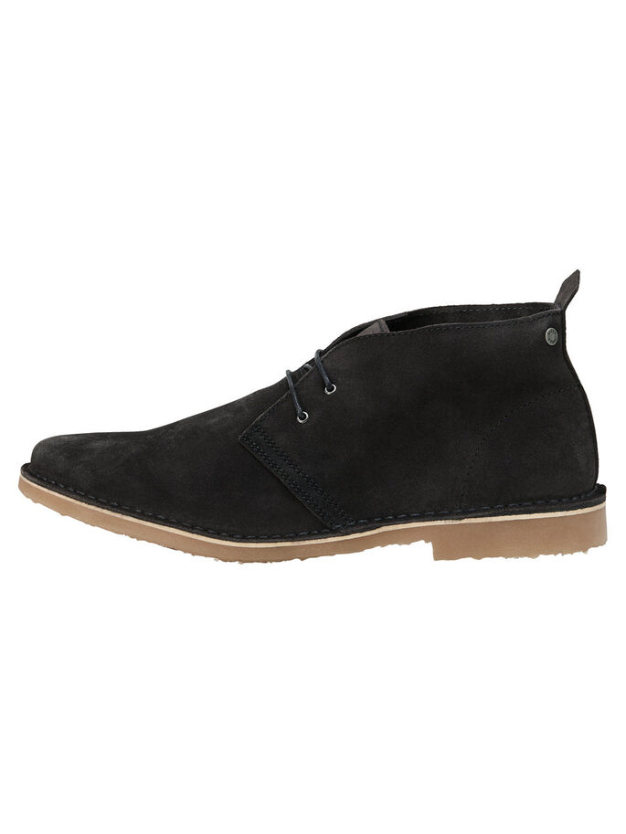 SUEDE BOOTS, Pirate Black, large