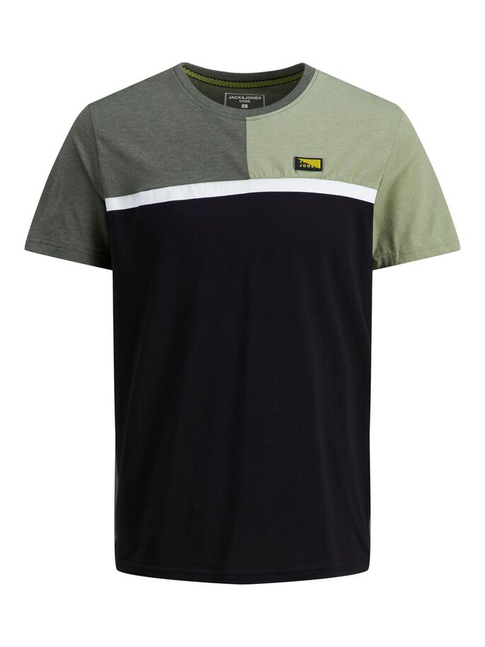 SLIM FIT T-SHIRT, Oil Green, large