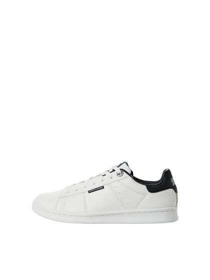 BOYS FAUX LEATHER SNEAKERS
